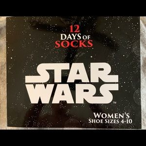 Star Wars 12 Days of Socks Advent Calendar